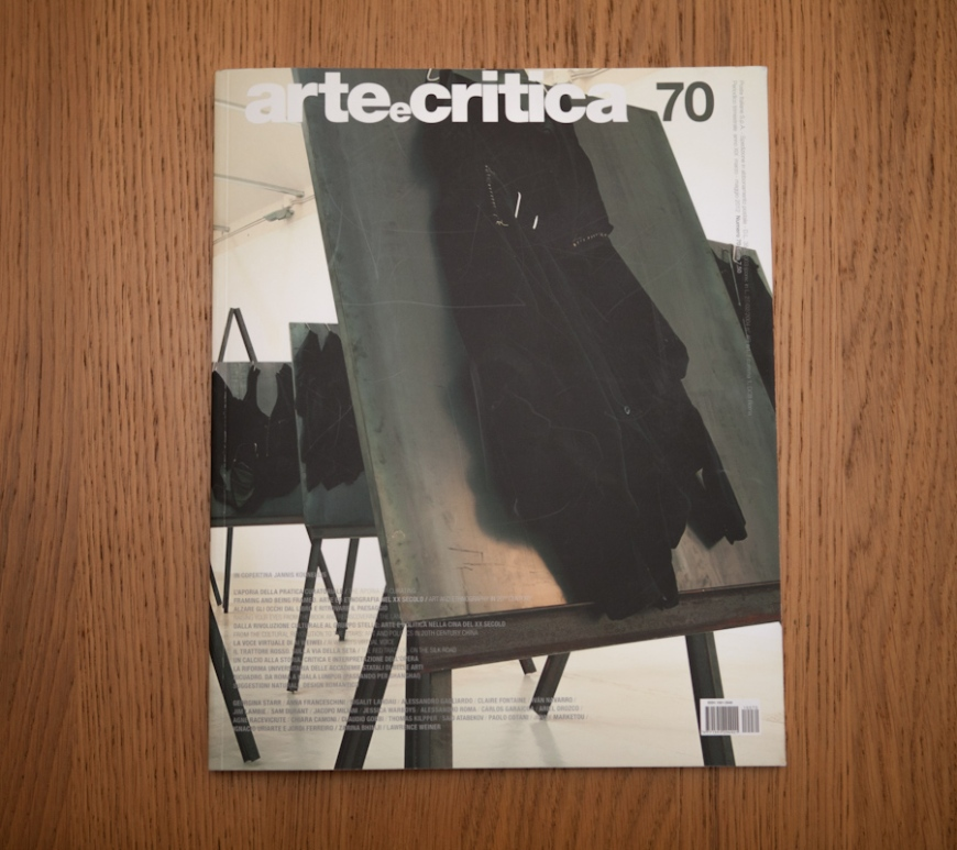 arte e critica n.70 cover