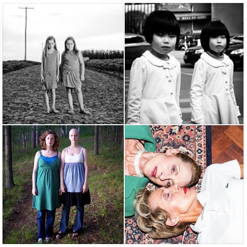 Feature shot best twins portraits
